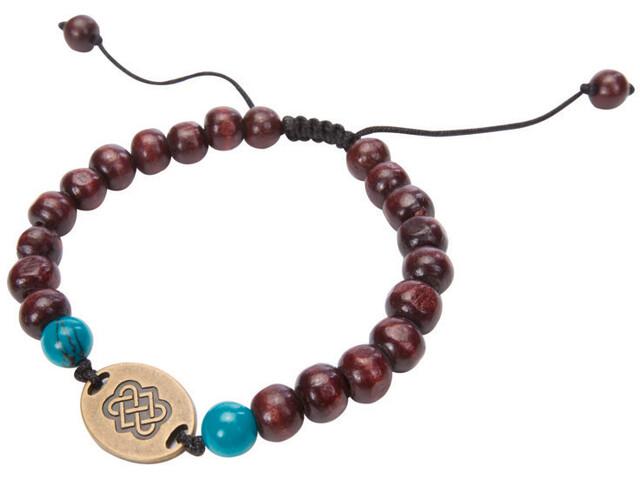 Sherpa Mala Endless Knot Bracelet brown